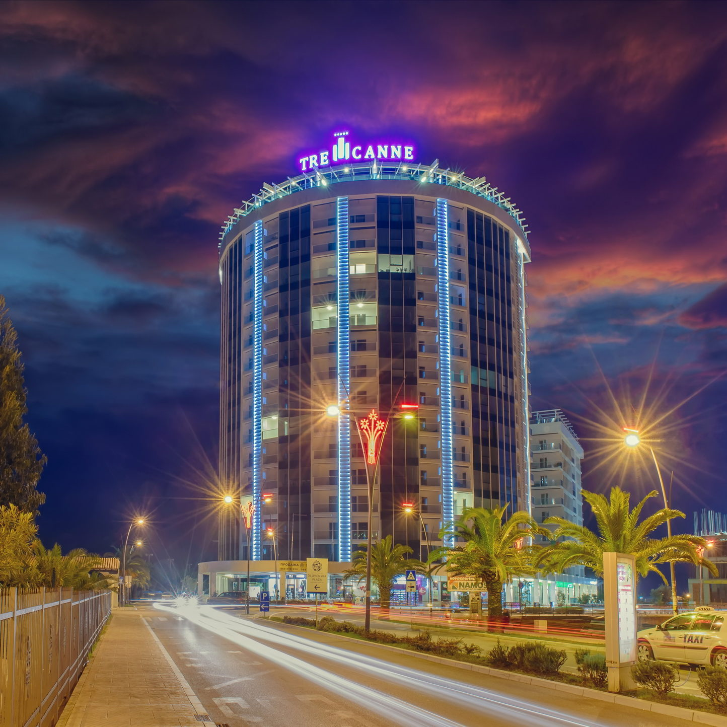 Hotel TRE CANNE ****, Budva, MONTENEGRO